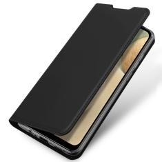 Samsung Galaxy A12 DuxDucis Skin Pro Wallet Case - Black MS000397