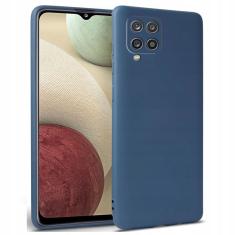 Samsung Galaxy A12 Tech-Protect Silicone Icon Case - Blue MS000502