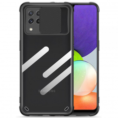 Samsung Galaxy A22 4G Tech-Protect Camshield Case - Black MS000744