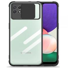 Samsung Galaxy A22 5G Tech-Protect Camshield Case - Black MS000740