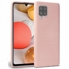 Samsung Galaxy A42 5G Tech-Protect Icon Silicone Case - Pink MS000378