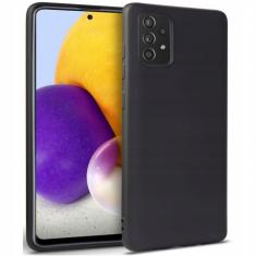 Samsung Galaxy A82 5G Tech-Protect Silicone Icon Case - Black